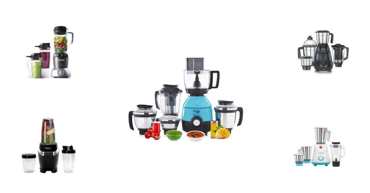 15 BEST MIXER GRINDER FOR HOME IN INDIA