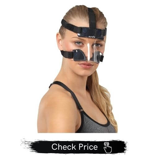 Top rated basketball face mask