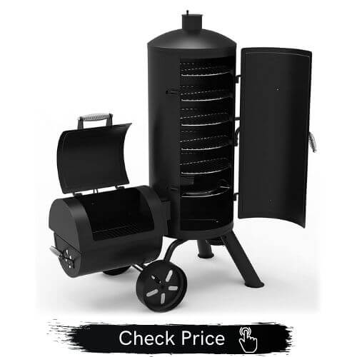 Dyna-Glo Signature Series Vertical Offset Charcoal Smoker & Grill