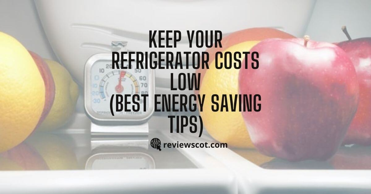 Keep Your Refrigerator Costs Low Best Energy Saving Tips