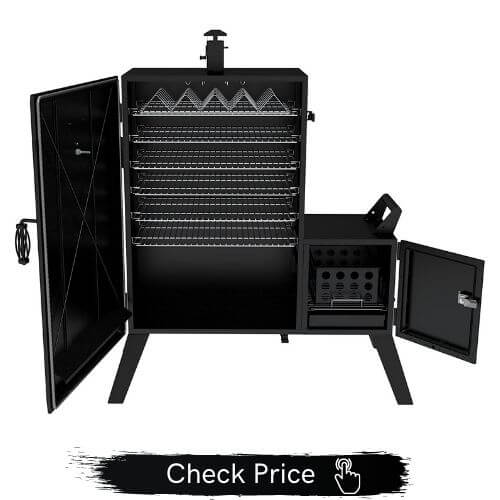 charcoal grill with offset smoker