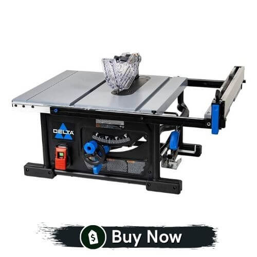 Delta 10 Inch Table Saw with 25 Inch