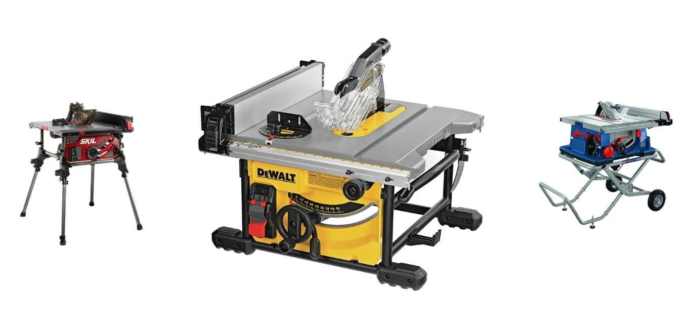 List of Top 5 Best Table Saws Under $1000