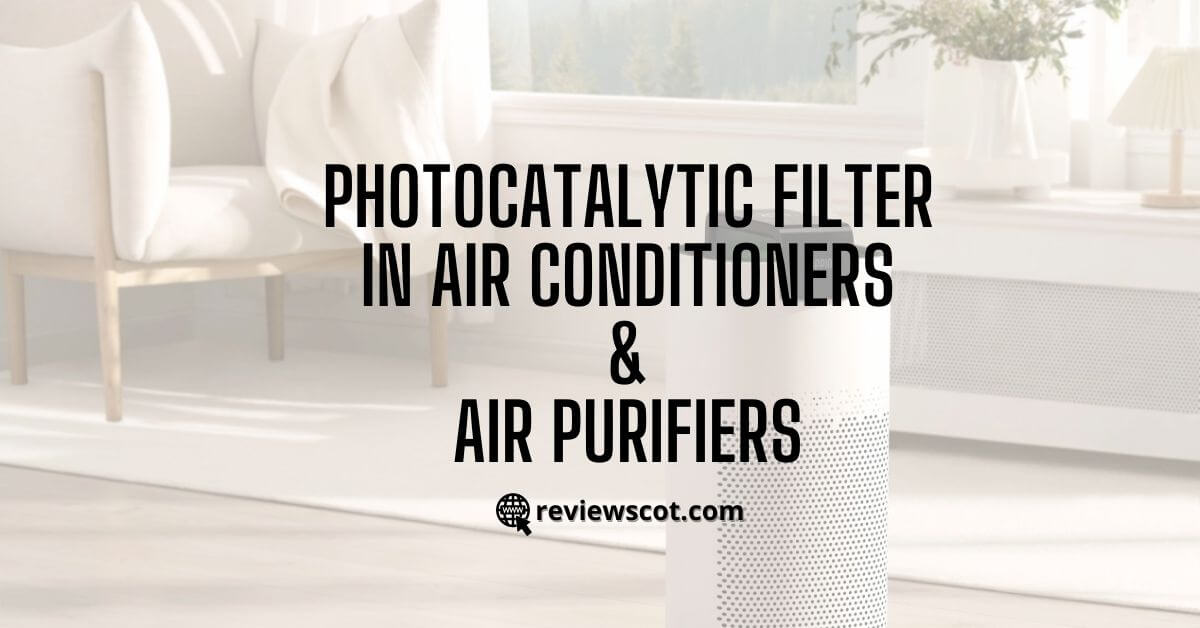 Photocatalytic Filter in Air